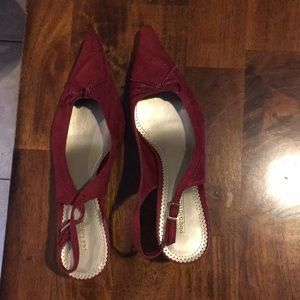 Prediction Size 12 Pointed Toe Slingback Shoes